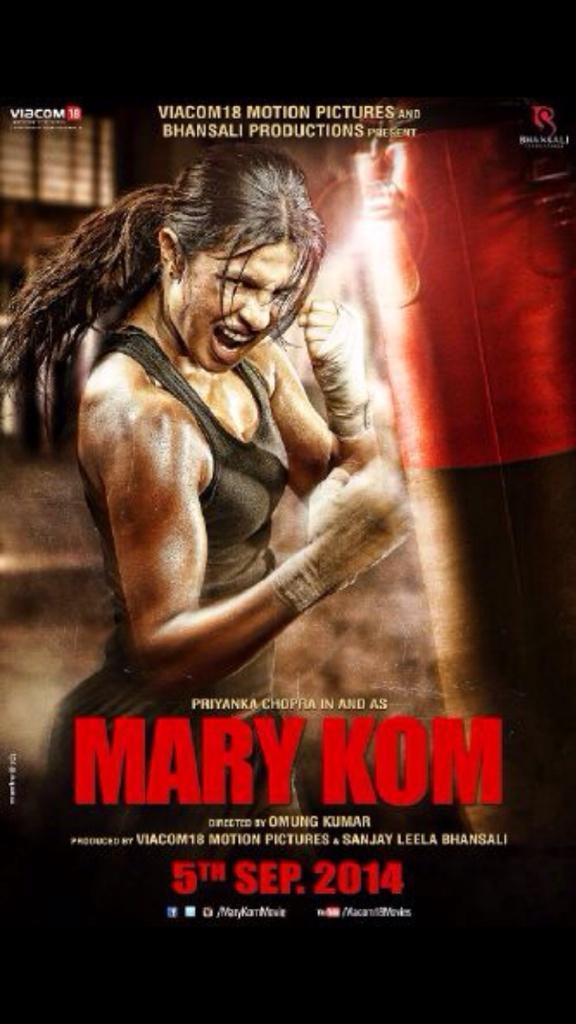 Priyanka Chopra as Mary Kom