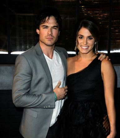 ian somerhalder nikki reed dating couple tip toeing into