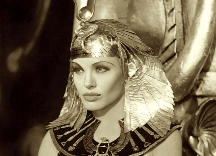 Fan-made poster of Angelina Jolie as Cleopatra