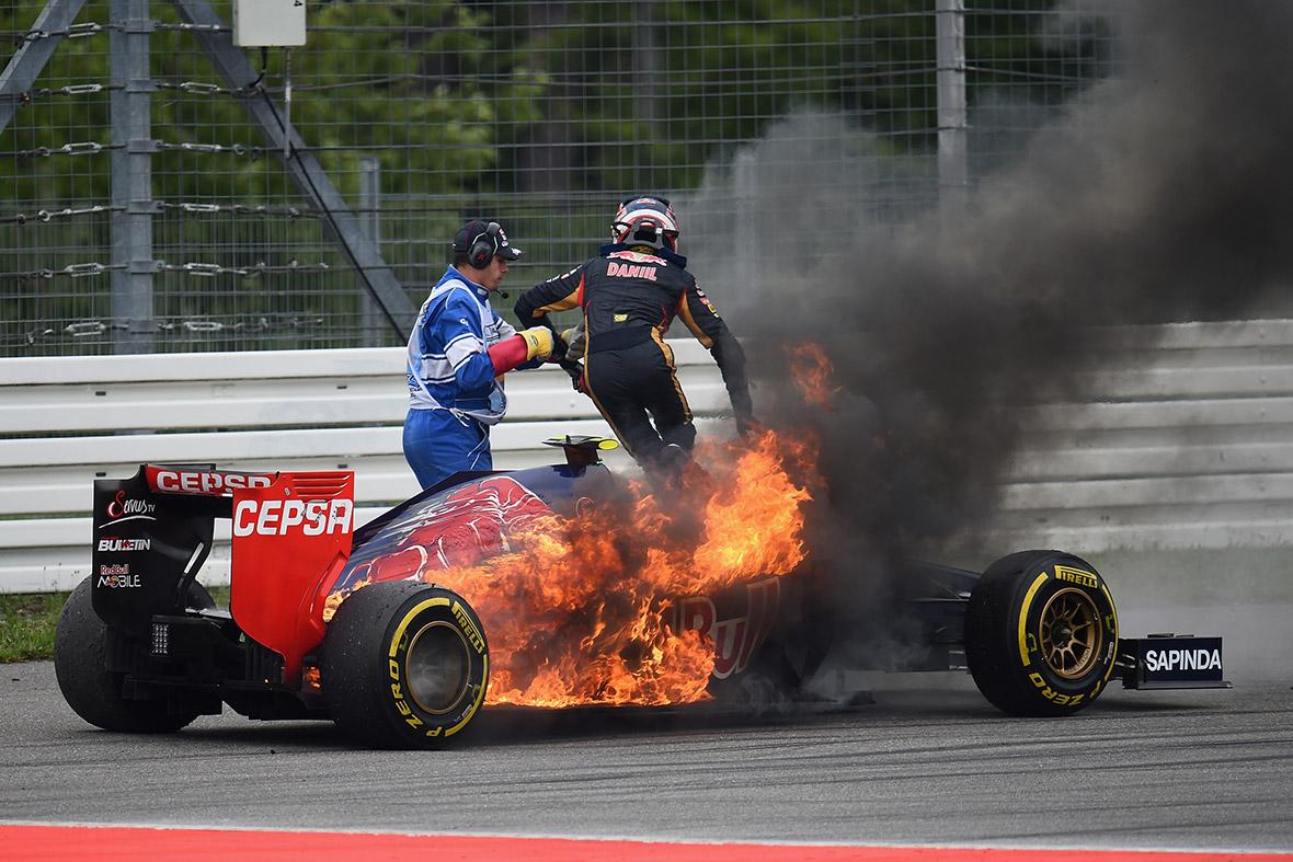 f1 flames