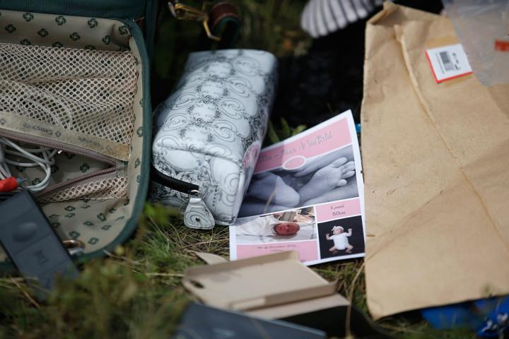 MH17 belongings