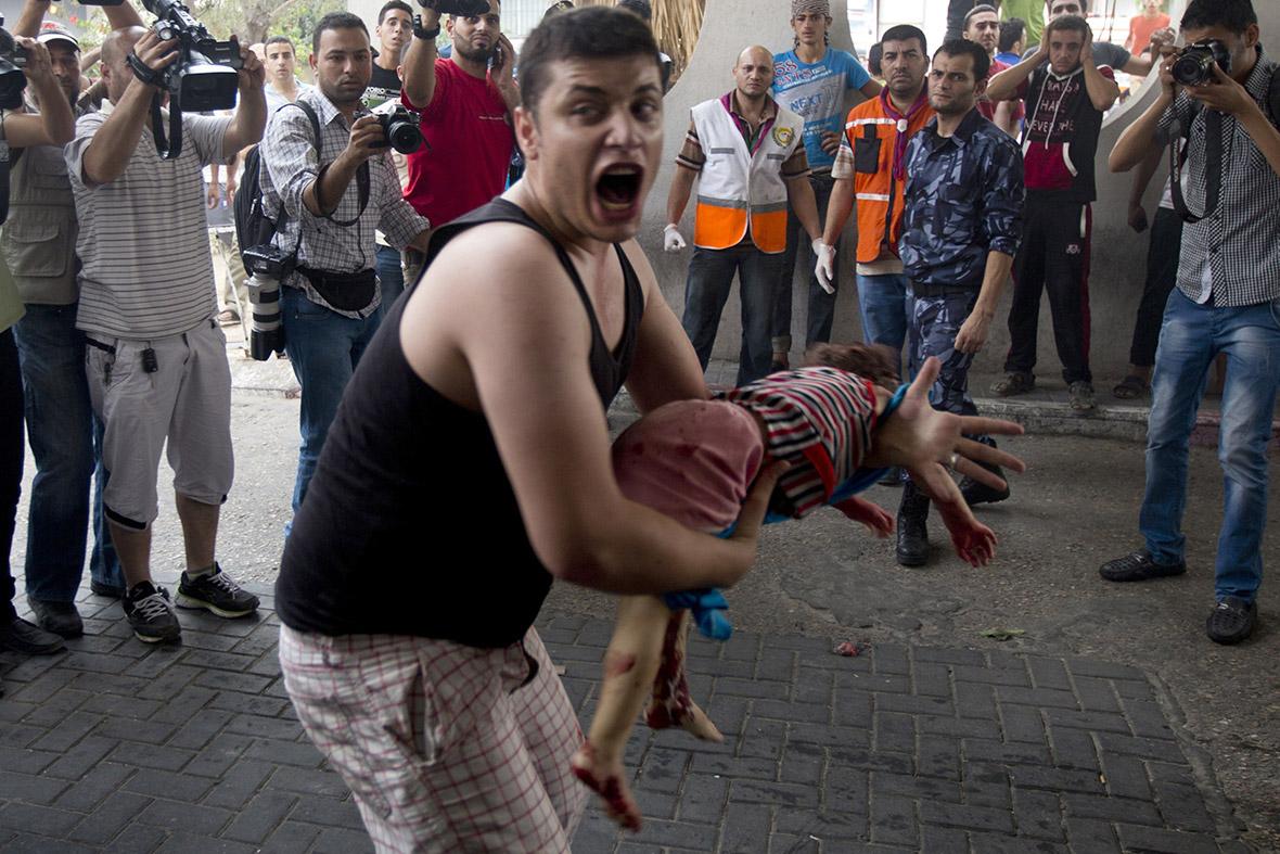 gaza dead child