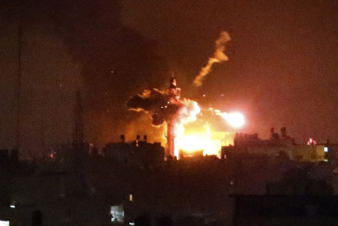 gaza minaret