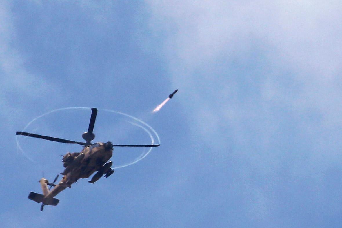 israeli helicopter