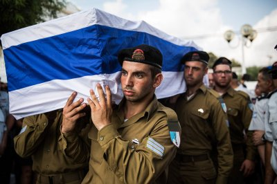 israeli coffin