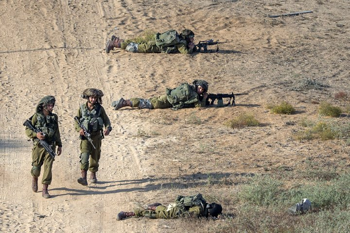 israel ground offensive