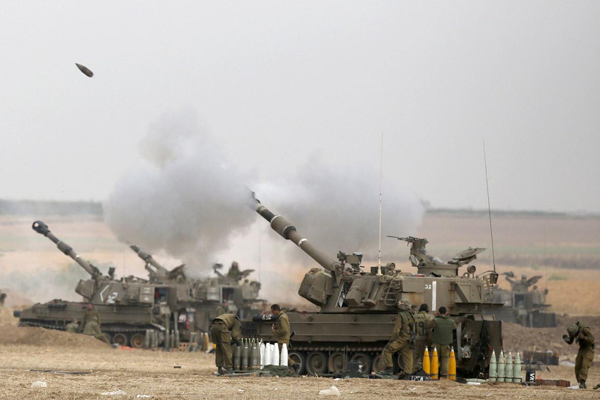 israel tank gaza