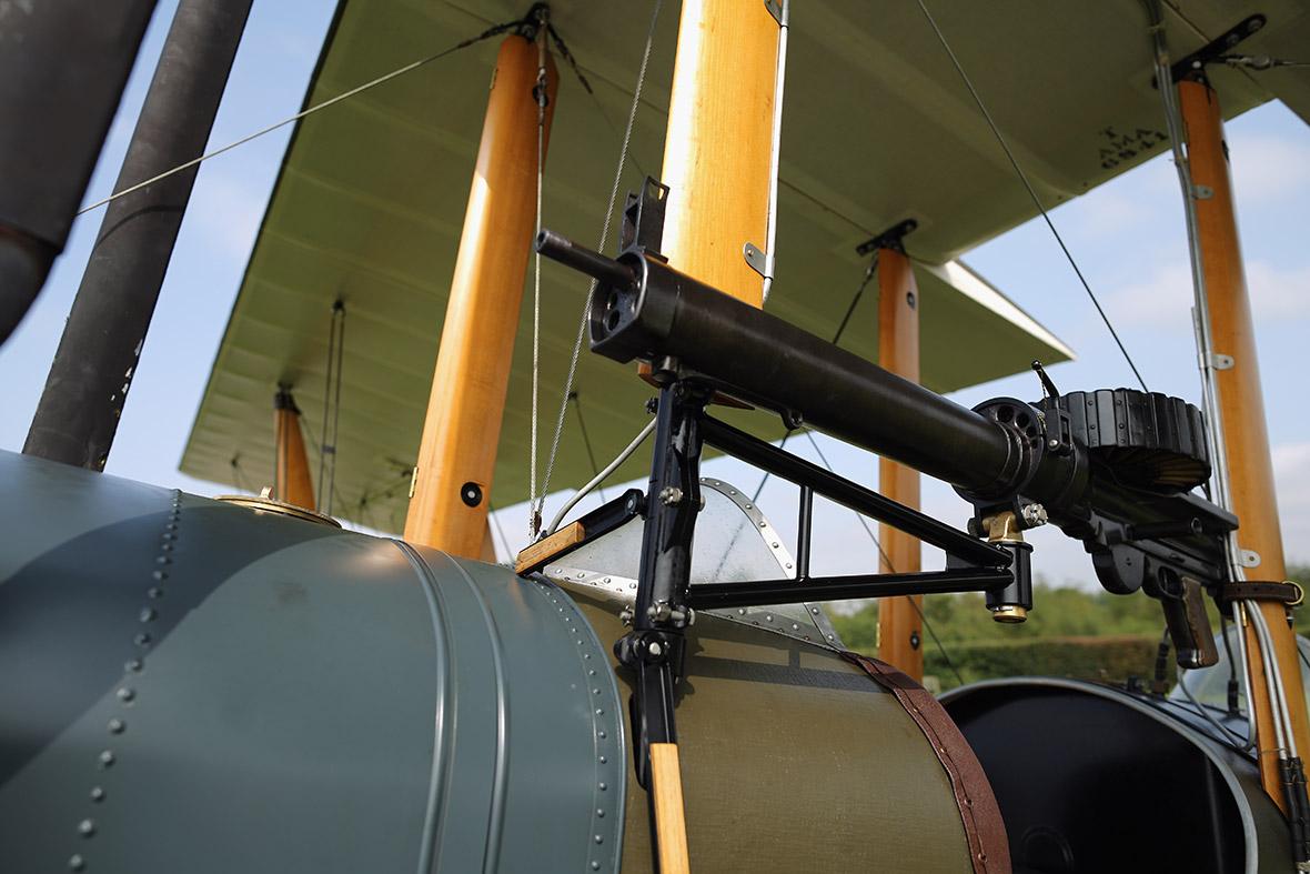 BE2 wing gun