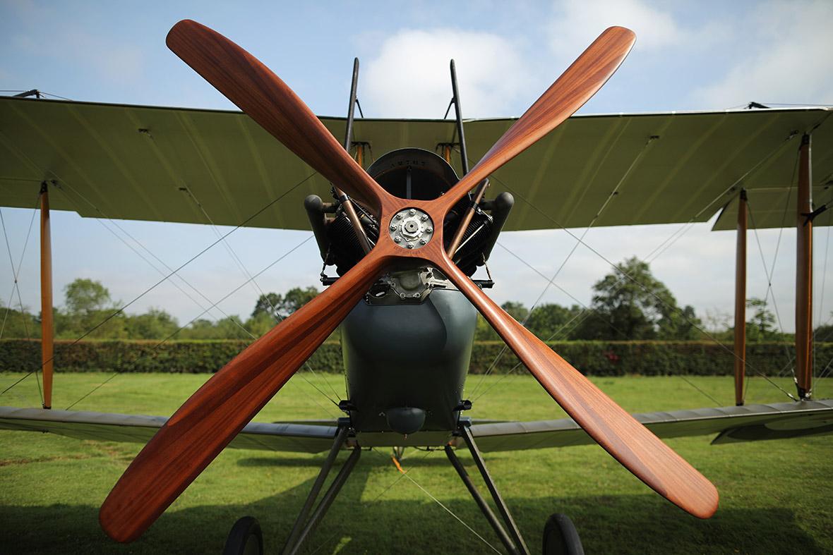 BE2 propeller