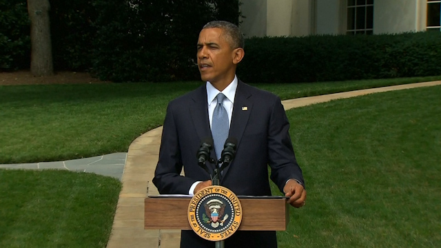 Obama: Focus in Gaza Conflict Must be on Ceasefire