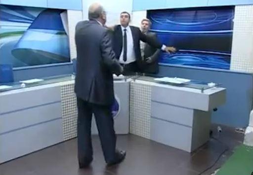 Gaza Debate Turns Live Brawl on Jordanian TV