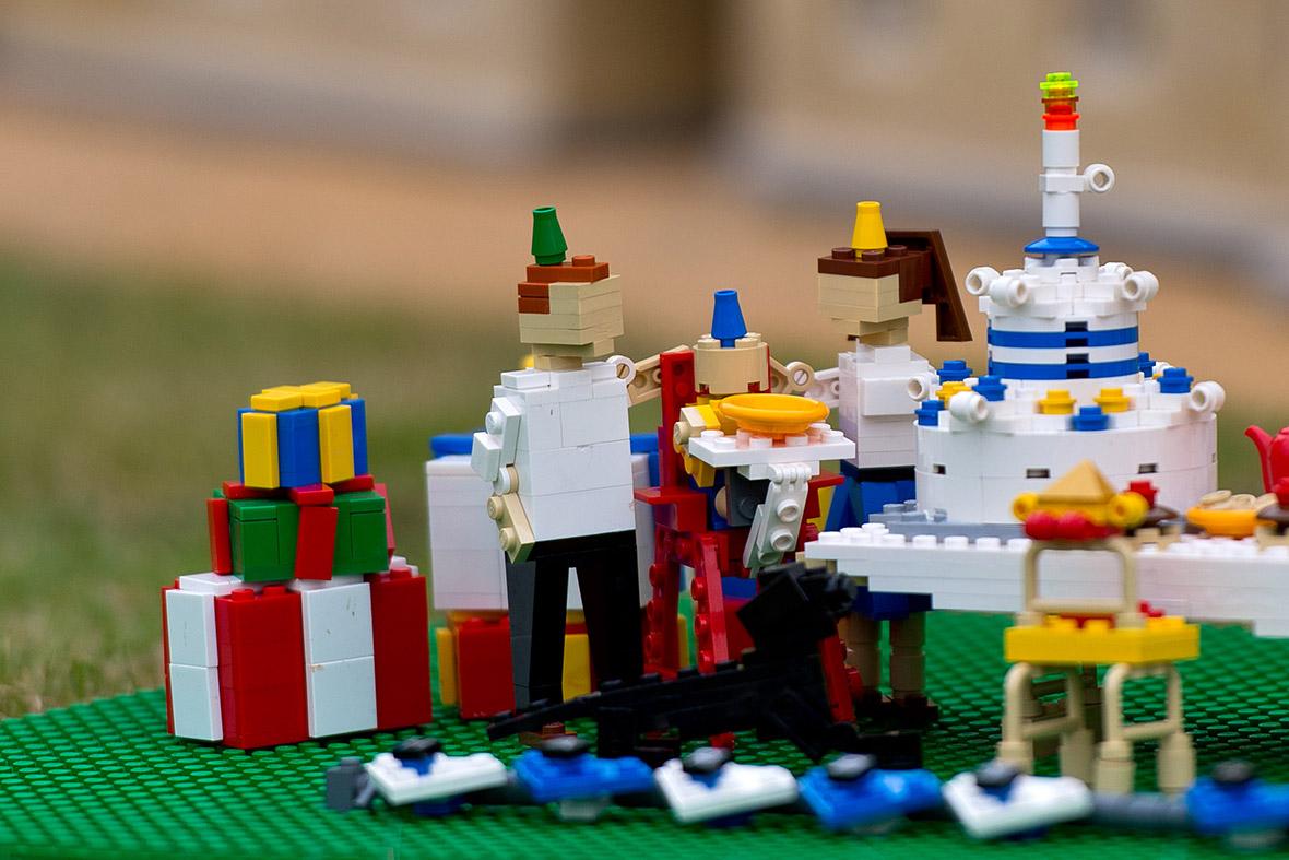 Prince George S First Birthday Legoland Create Lego