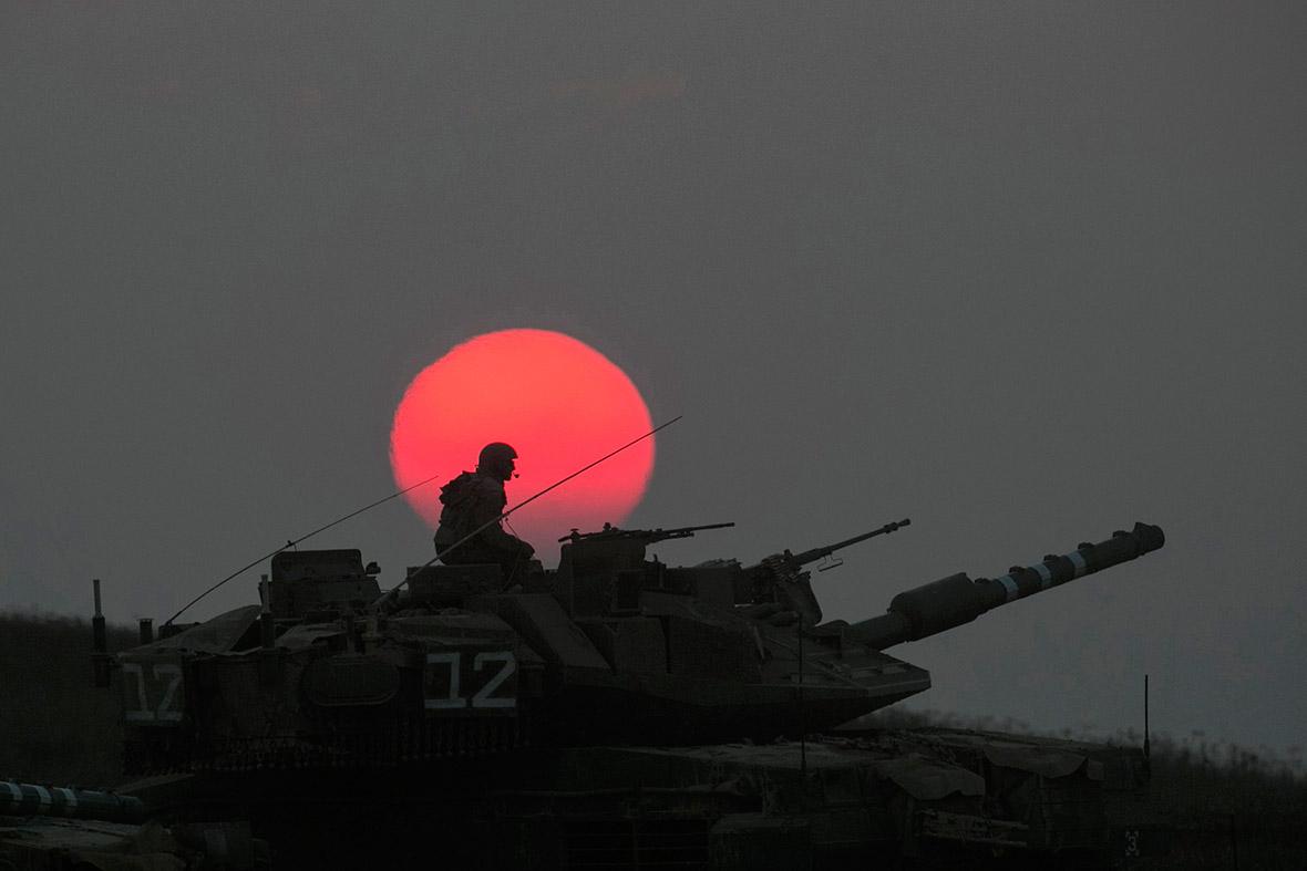gaza tank