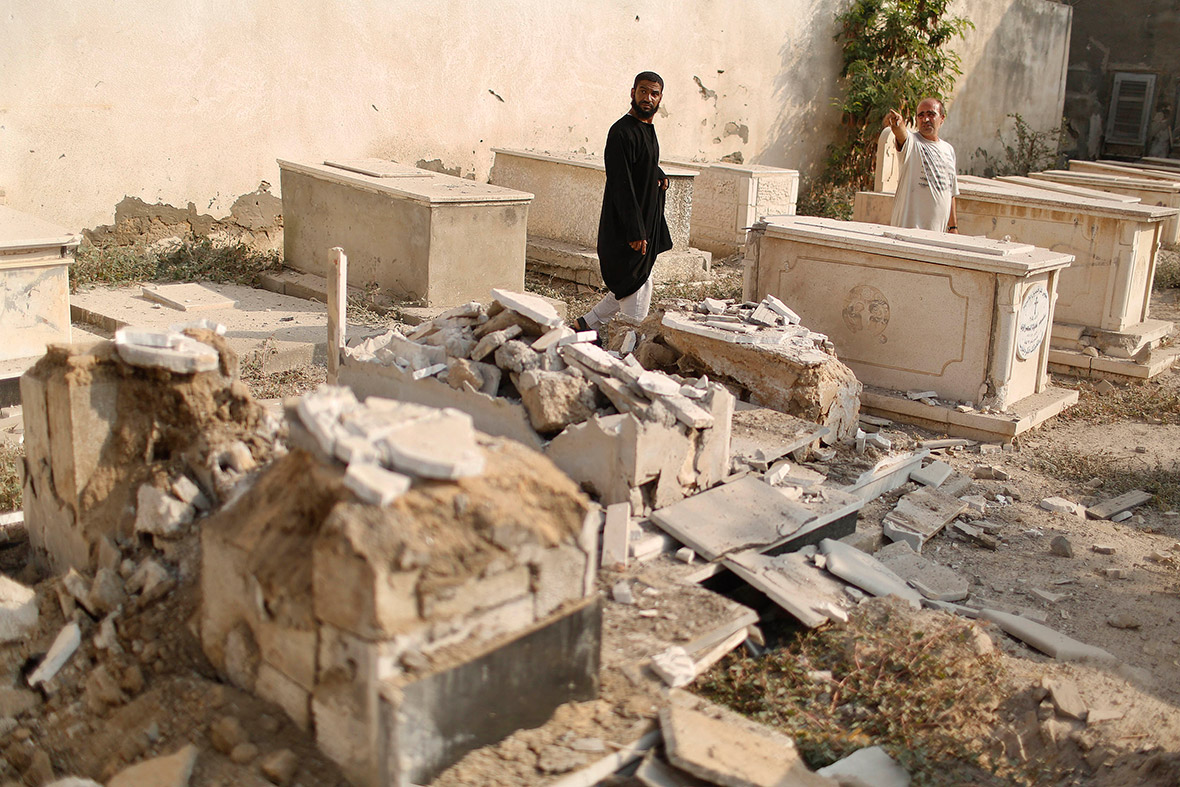 gaza cemetery