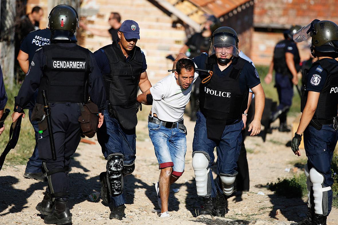 bulgaria roma arrest