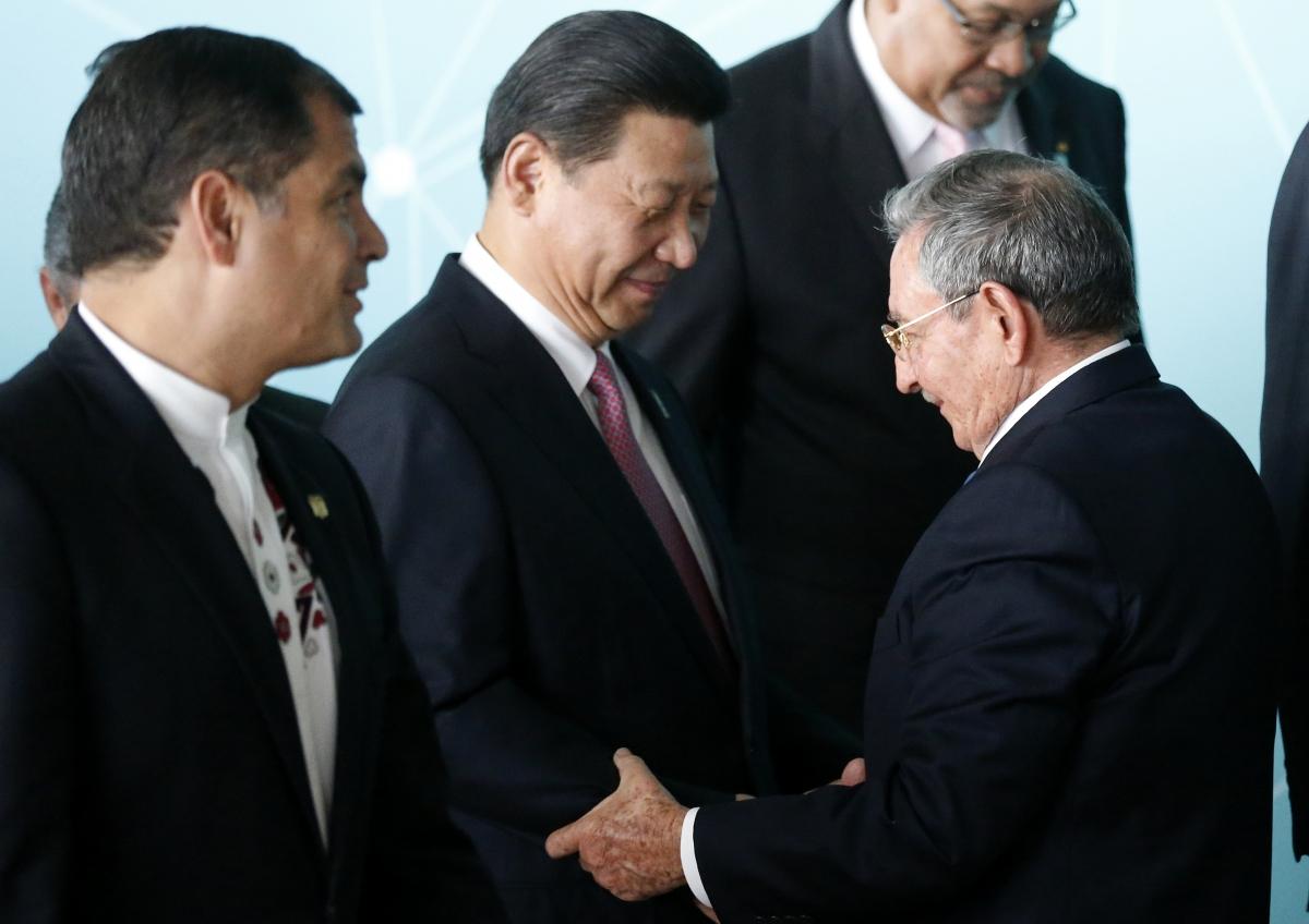 Xi Jinping Raul Castro