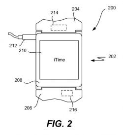 iWatch apple smartwatch patent iTime