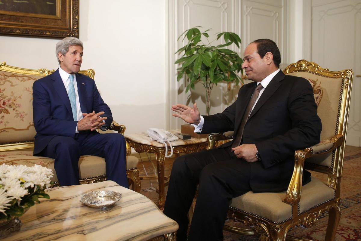 Israel Hamas Egypt Kerry