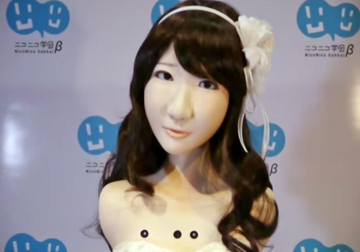 Yukirin, a robot doppelganger of AKB48 pop idol singer Yuki Kashiwagi