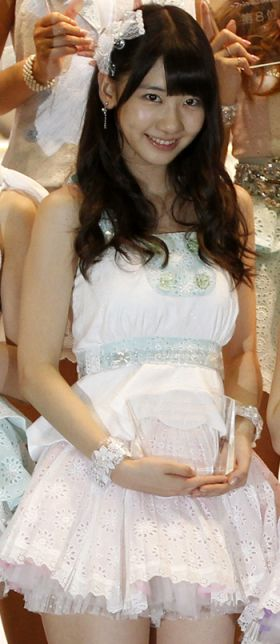Yuki Kashiwagi, AKB48 pop idol singer