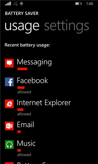 Windows Phone 8.1 Battery Saver Feature Updated With New 'Sort Through Apps' Functionality