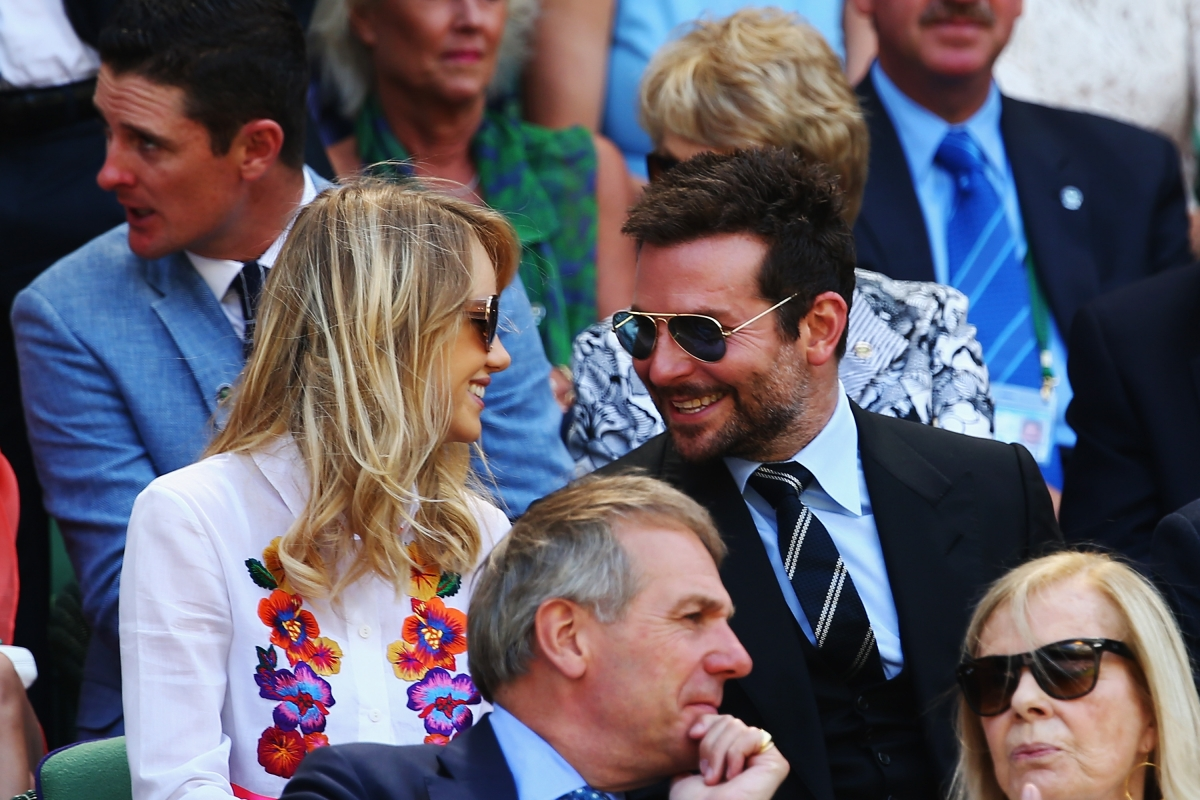 Actor Bradley Cooper and model Suki Waterhouse