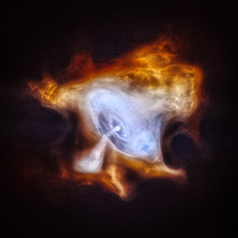 Chandra crab nebula
