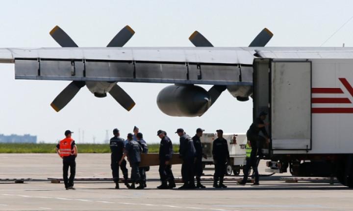 MH17 coffin