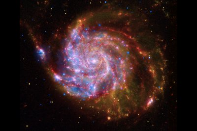 pinwheel galaxy chandra