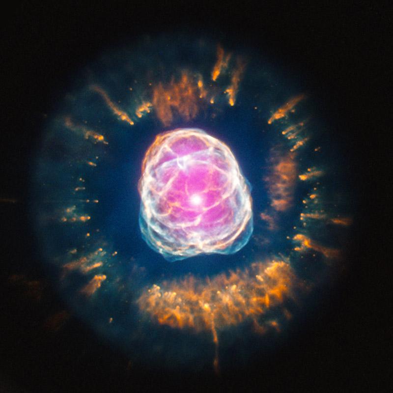Eskimo nebula chandra