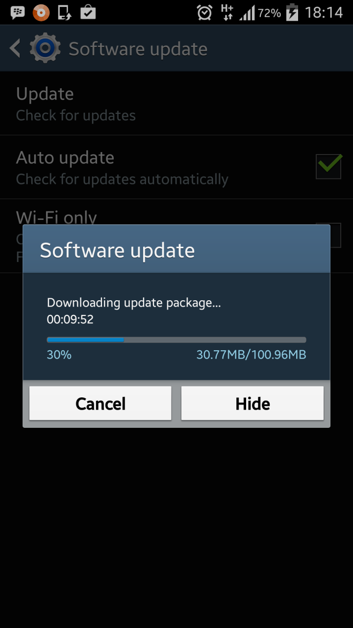 galaxy s4 firmware update download