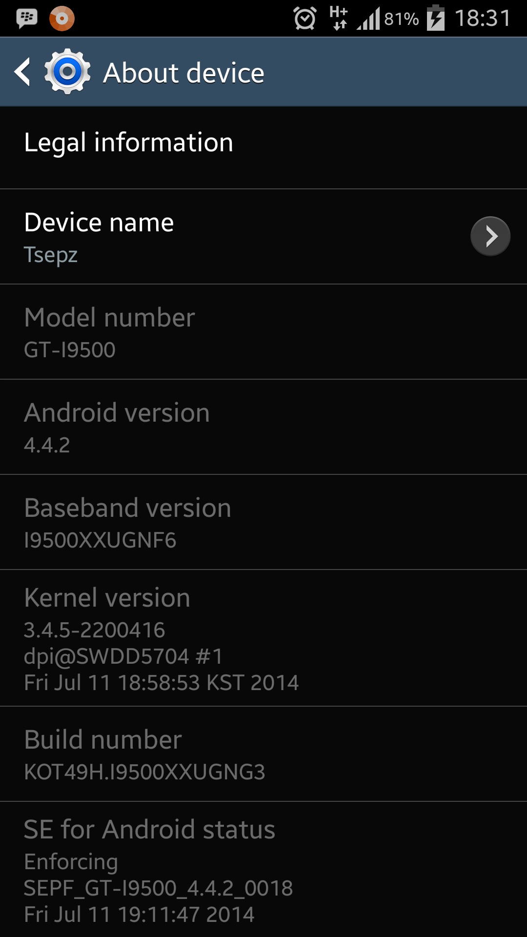 Update Galaxy S4 to Android 4.4.2 I9500XXUGNG3 Stock Firmware