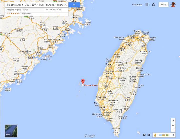 Taiwan plane