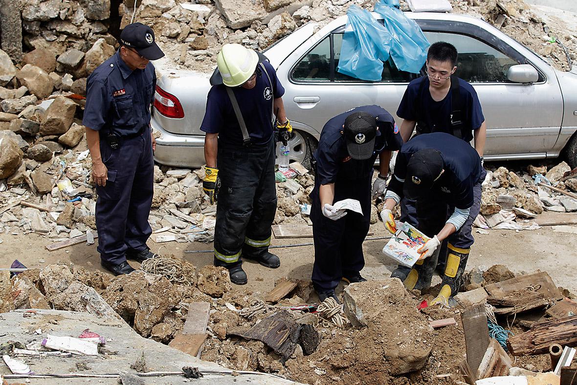 taiwan plane crash belongings