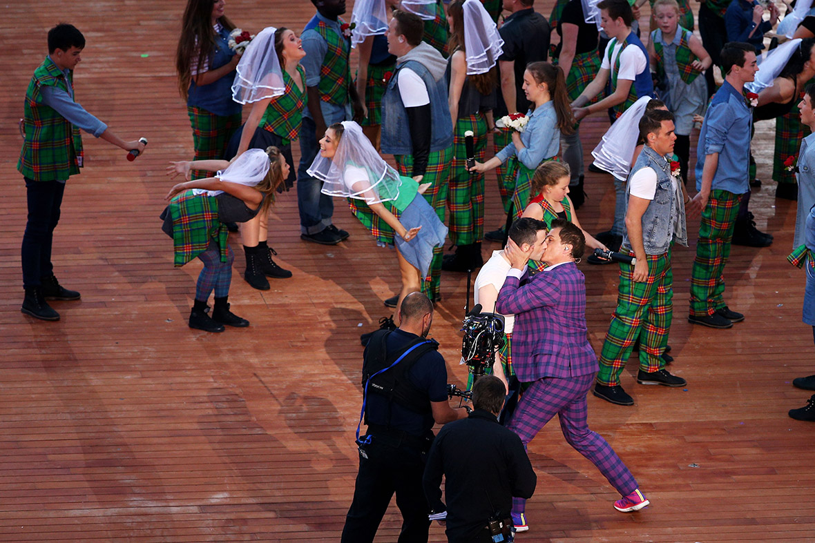 commonwealth Games opening ceremony John Barrowman