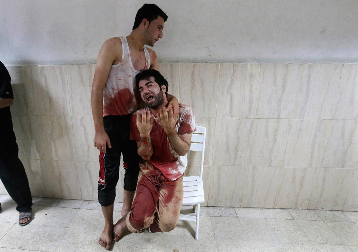gaza blood