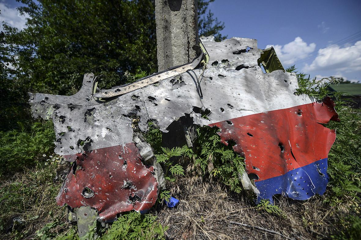 mh17 wreckage