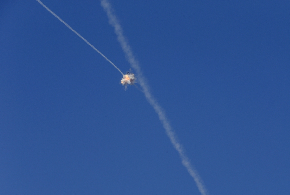 Israel-Gaza rocket attack