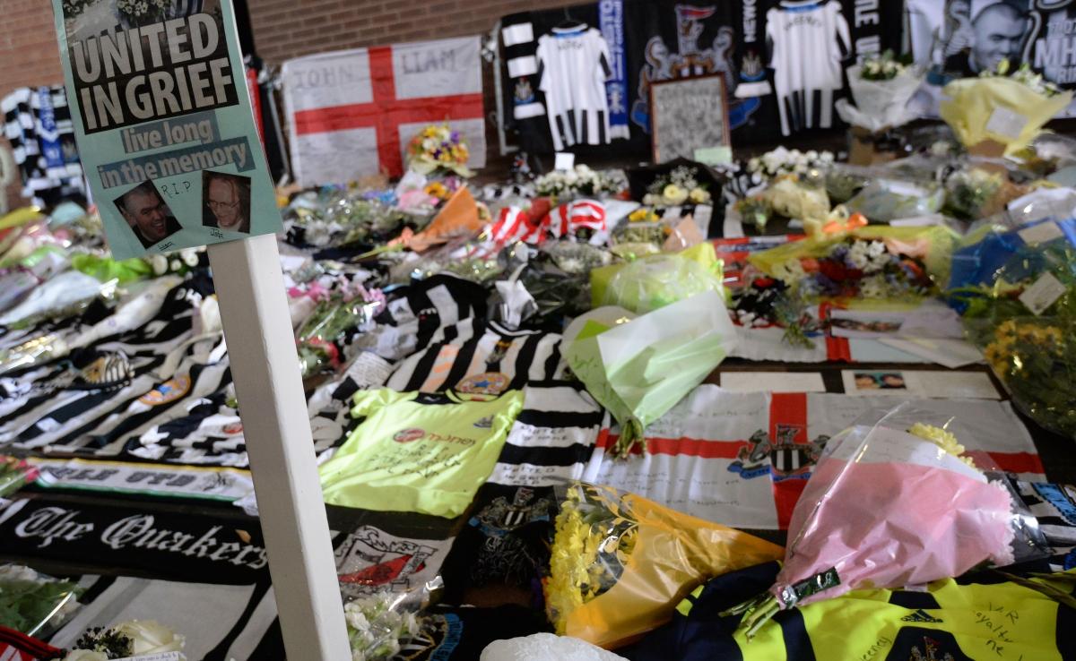 Newcastle utd mourning