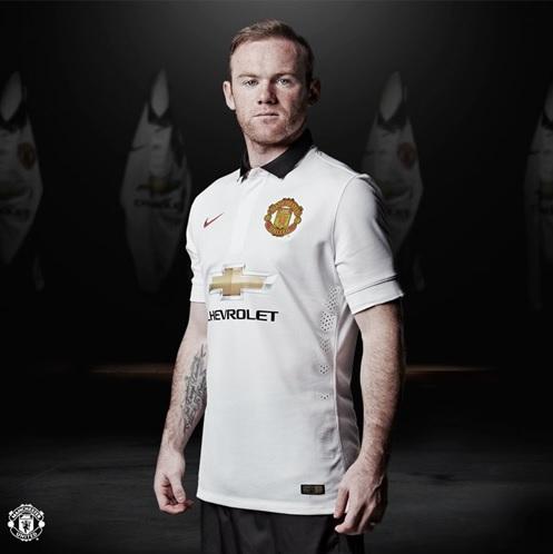 Manchester United away shirt