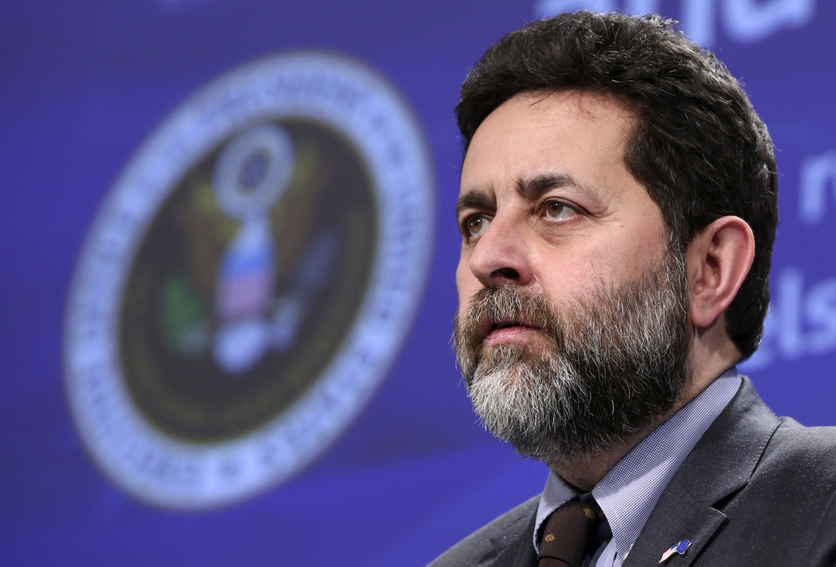 European Union chief negotiator Ignacio Garcia Bercero