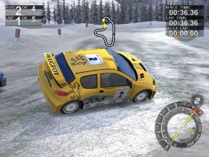 RalliSport Challenge, one of the first Xbox games