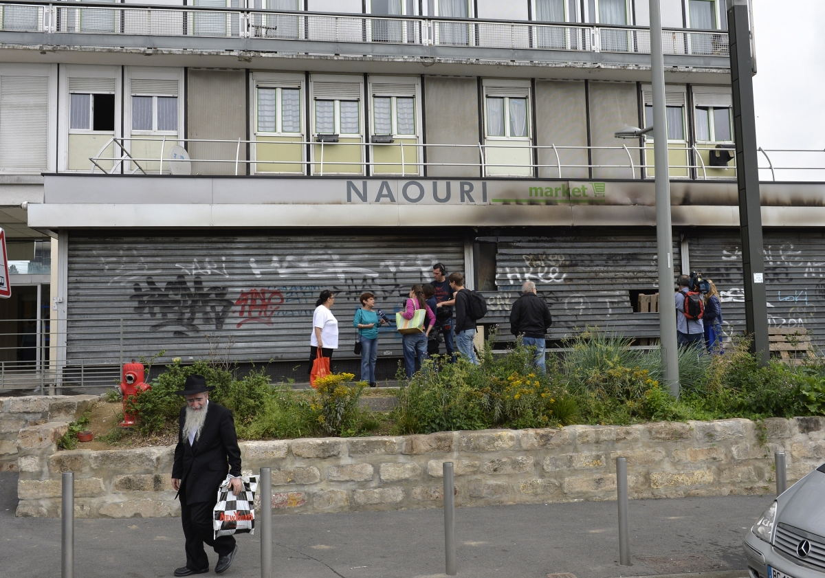 Sarcelles Paris Palestine Israel violence