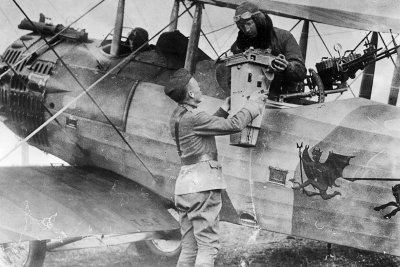 first world war aerial reconnaissance