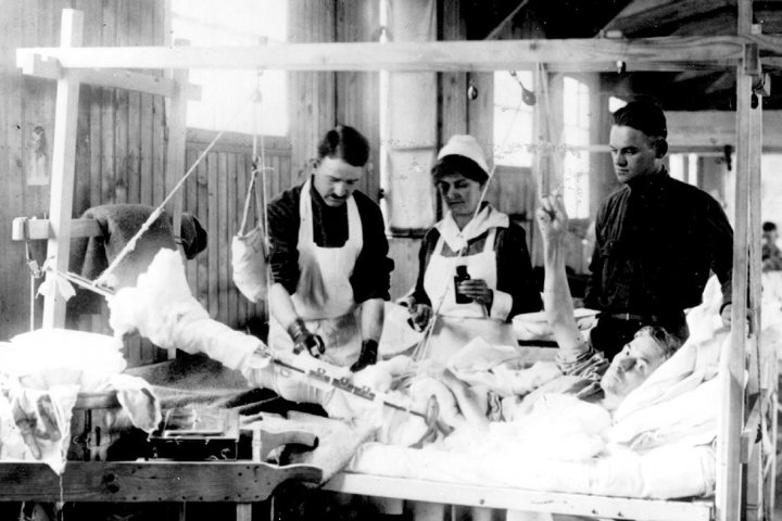 first world war hospital