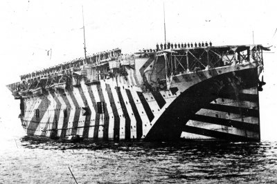 aircraft carrier first world war
