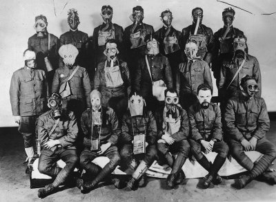 first world war gas masks