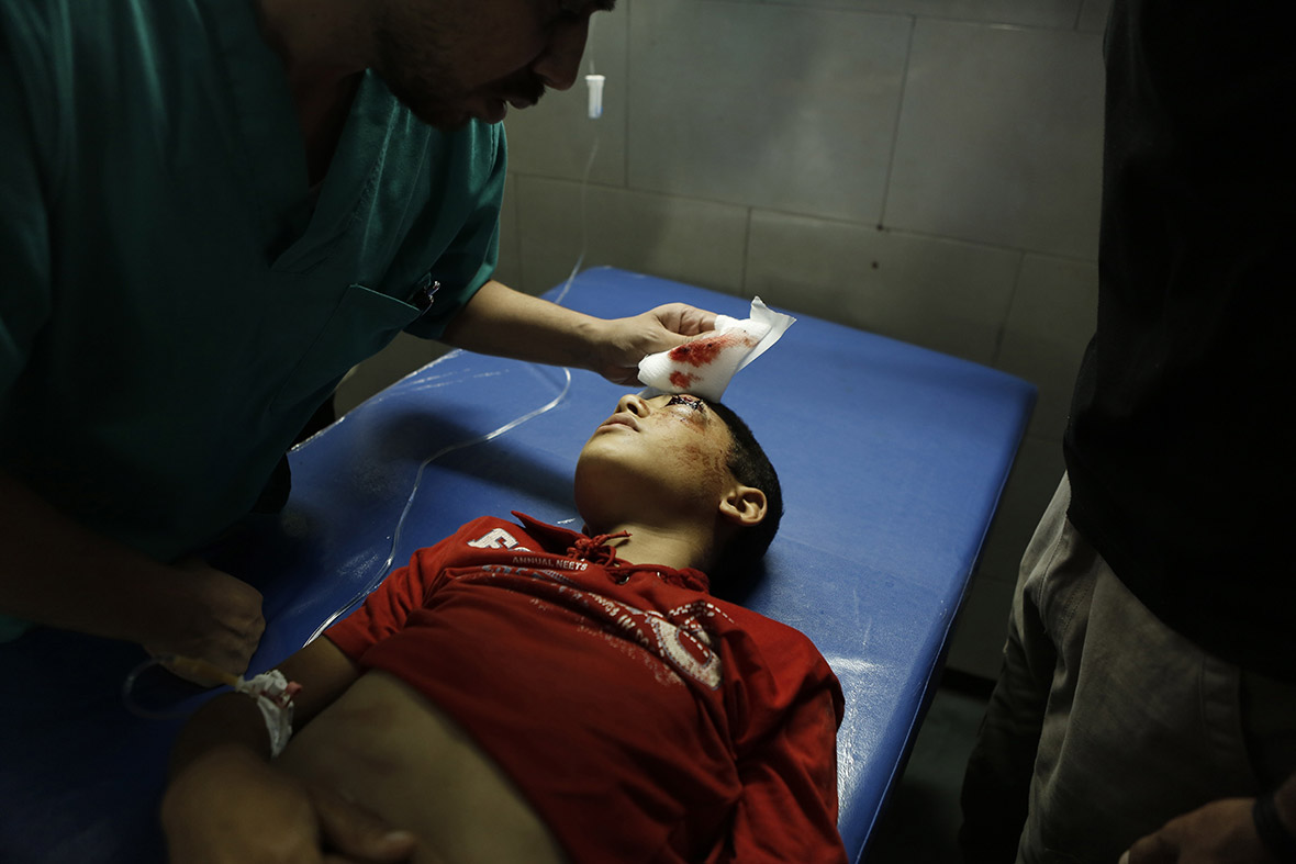 Gaza Strip Massacre At Un School Powerful Photos Of