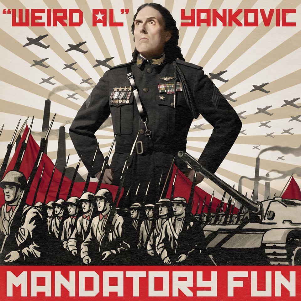 Mandatory Fun, Weird Al Yankovic's latest album, has topped the Billboard charts