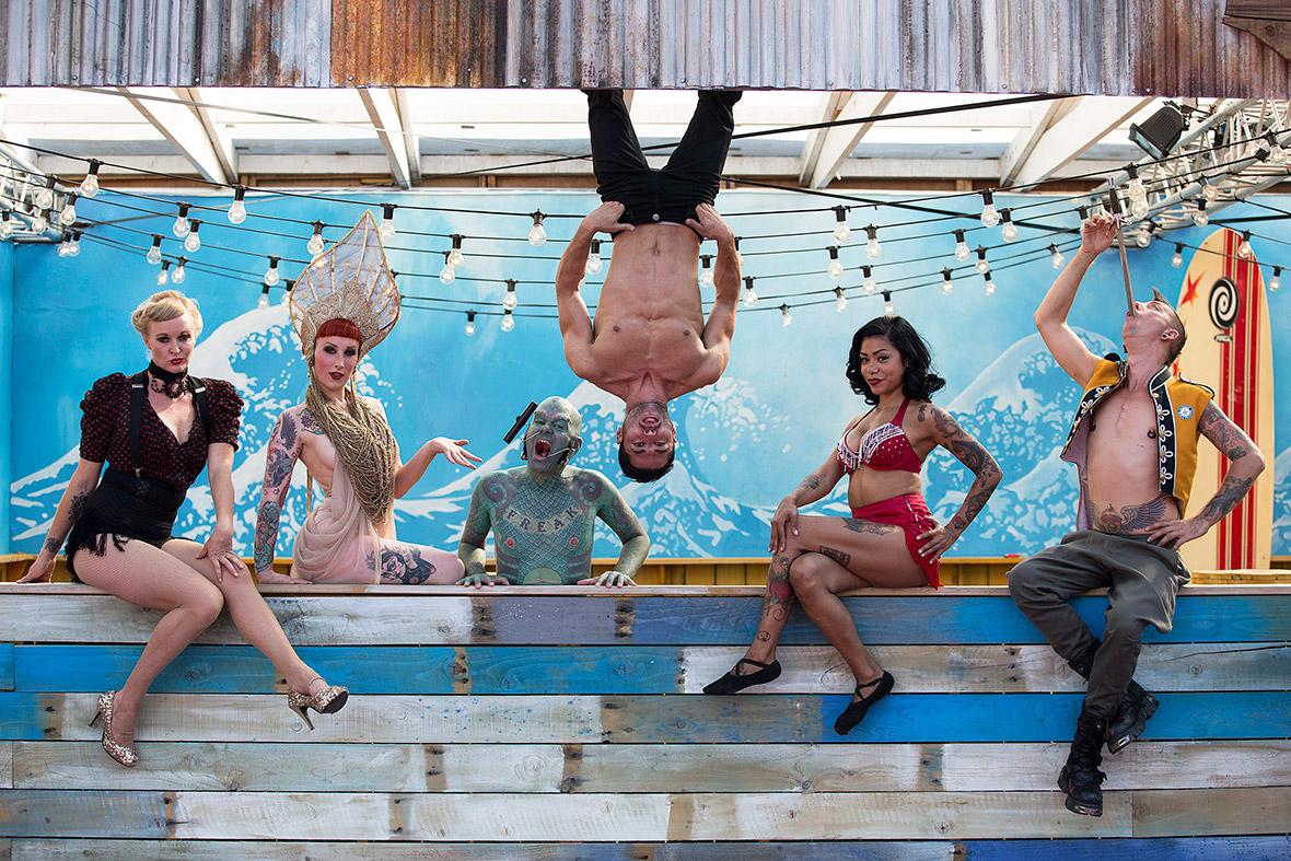 circus london wonderground